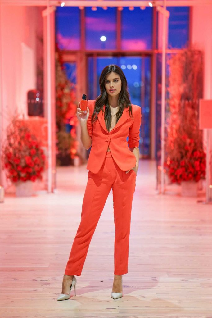 Sara Sampaio at the Giorgio Armani Si Passione Fragrance and Vogue Launch Celebration in New York 04/05/2018-1