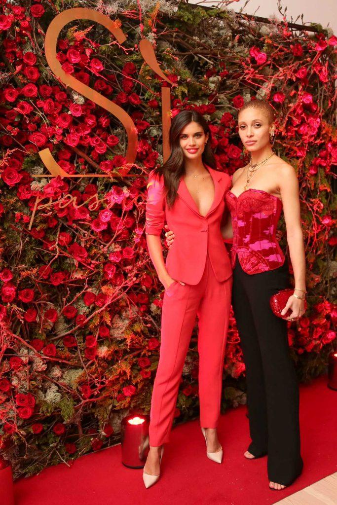 Sara Sampaio at the Giorgio Armani Si Passione Fragrance and Vogue Launch Celebration in New York 04/05/2018-5