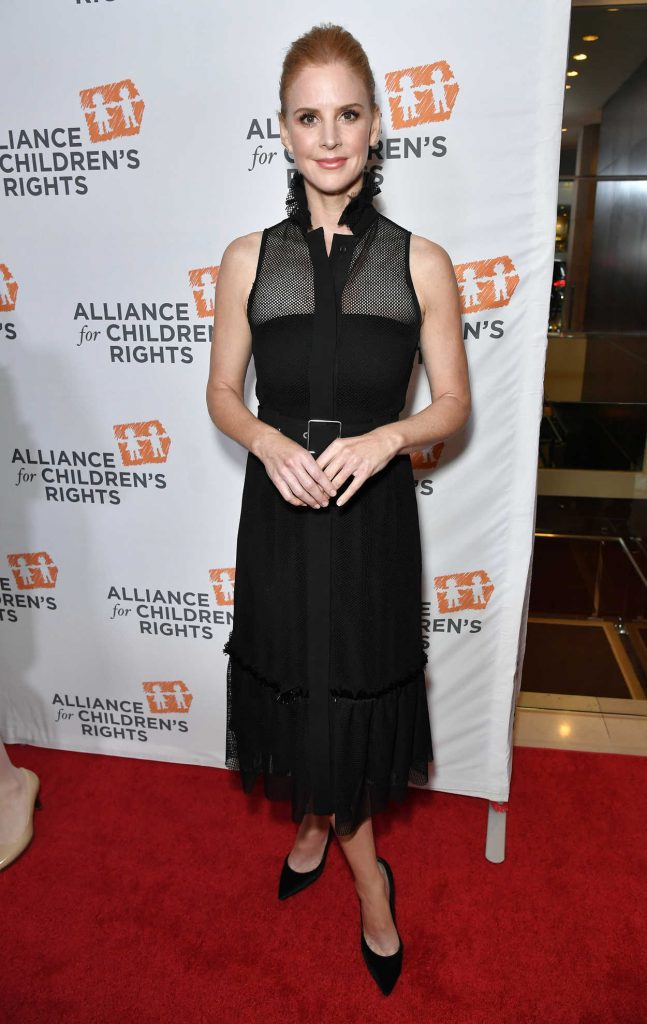 Sarah Rafferty at The Alliance For Children's Rights 26th Annual Dinner in Beverly Hills 03/28/2018-1