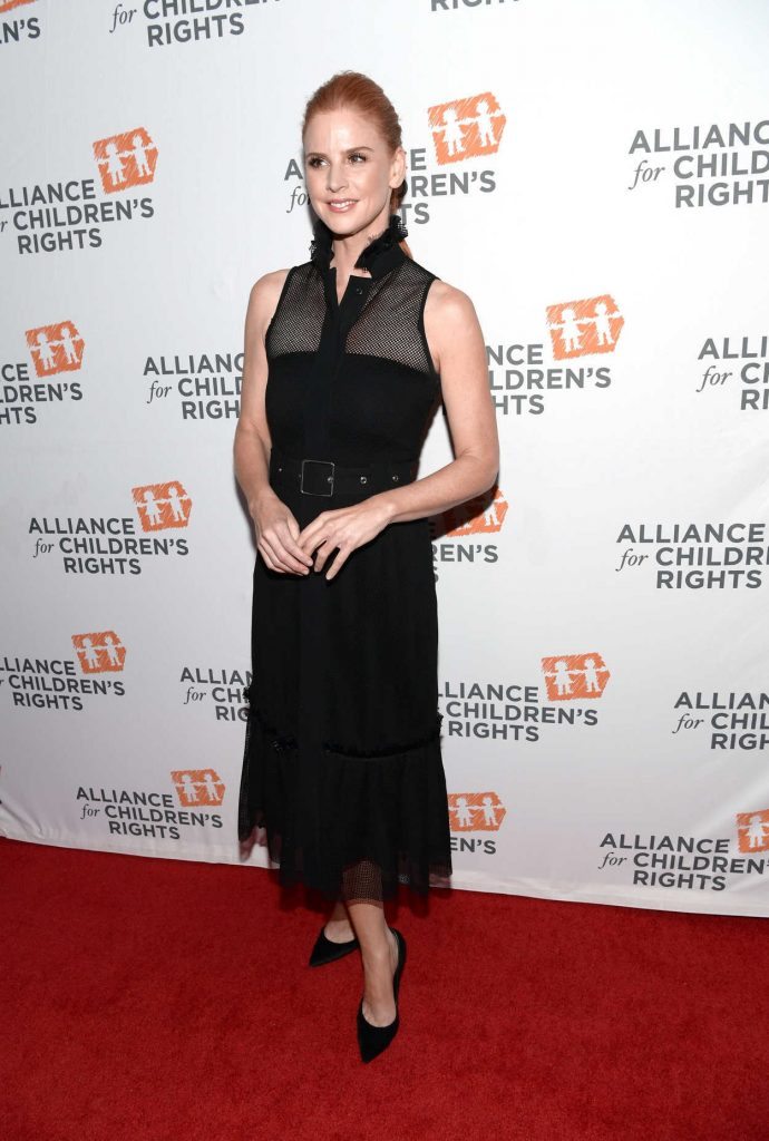 Sarah Rafferty at The Alliance For Children's Rights 26th Annual Dinner in Beverly Hills 03/28/2018-2