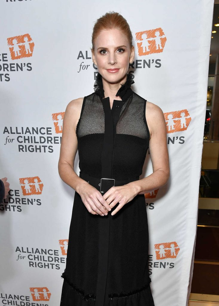 Sarah Rafferty at The Alliance For Children's Rights 26th Annual Dinner in Beverly Hills 03/28/2018-3