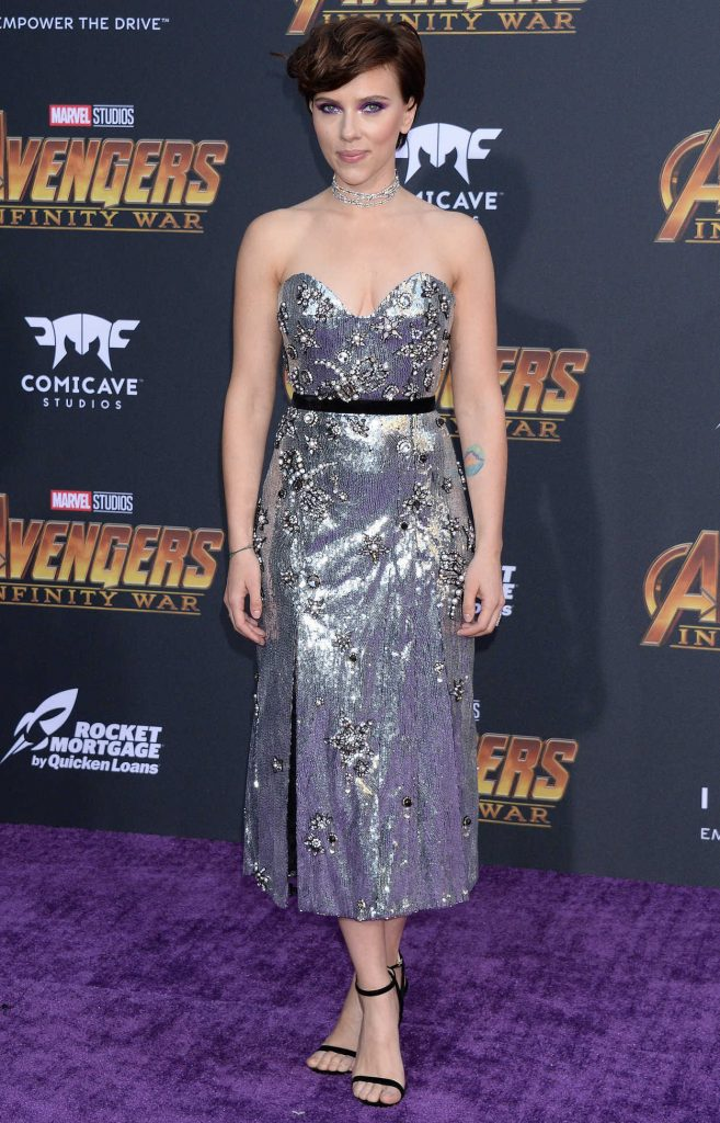 Scarlett Johansson at Avengers: Infinity War Premiere in Los Angeles 04/23/2018-1
