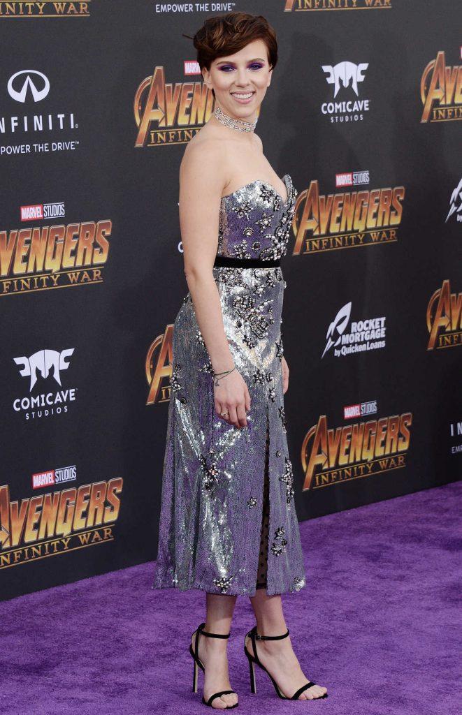 Scarlett Johansson at Avengers: Infinity War Premiere in Los Angeles 04/23/2018-2