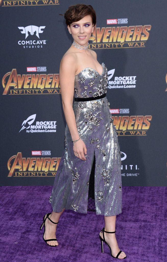 Scarlett Johansson at Avengers: Infinity War Premiere in Los Angeles 04/23/2018-3