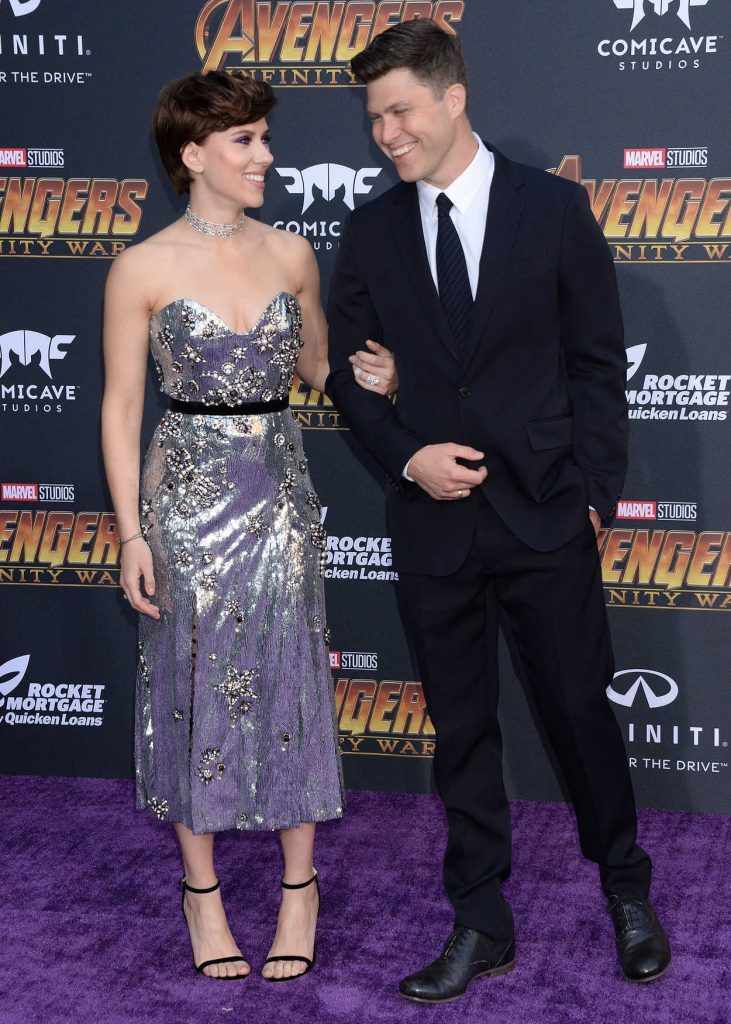 Scarlett Johansson at Avengers: Infinity War Premiere in Los Angeles 04/23/2018-4