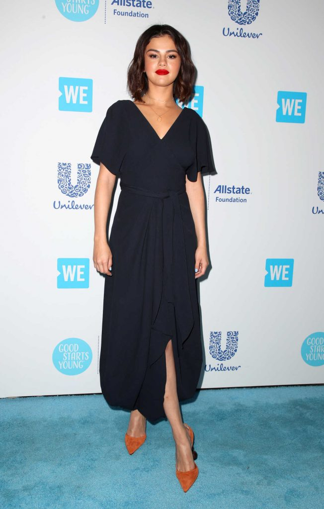 Selena Gomez at WE Day California in Los Angeles 04/19/2018-1