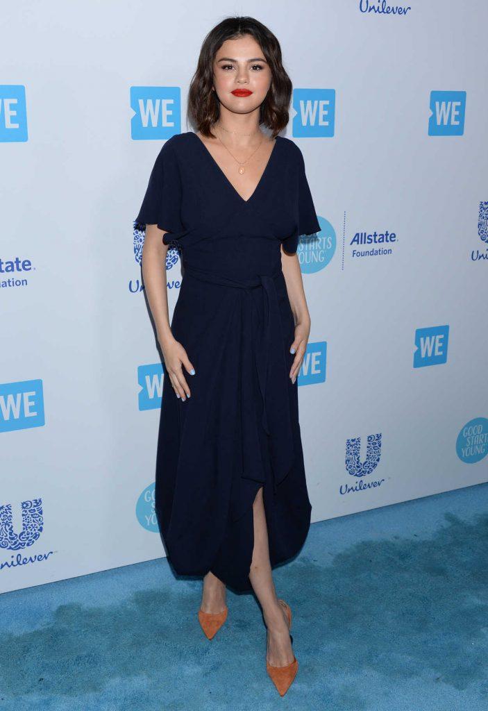 Selena Gomez at WE Day California in Los Angeles 04/19/2018-3