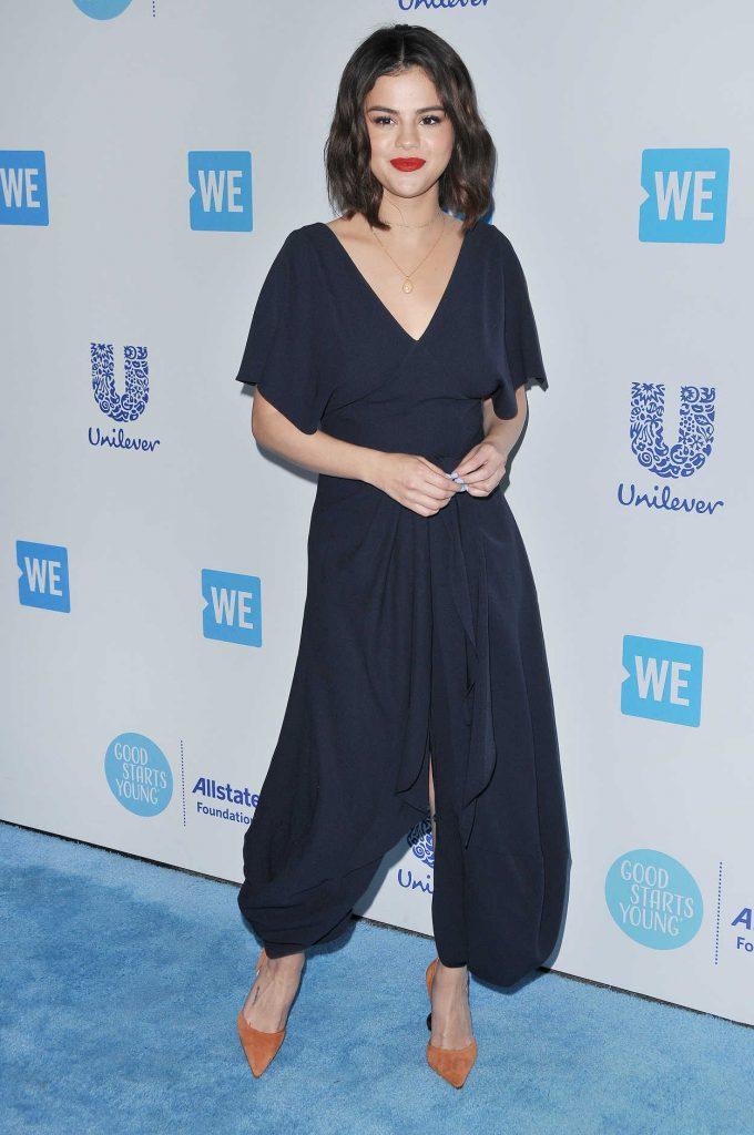 Selena Gomez at WE Day California in Los Angeles 04/19/2018-4