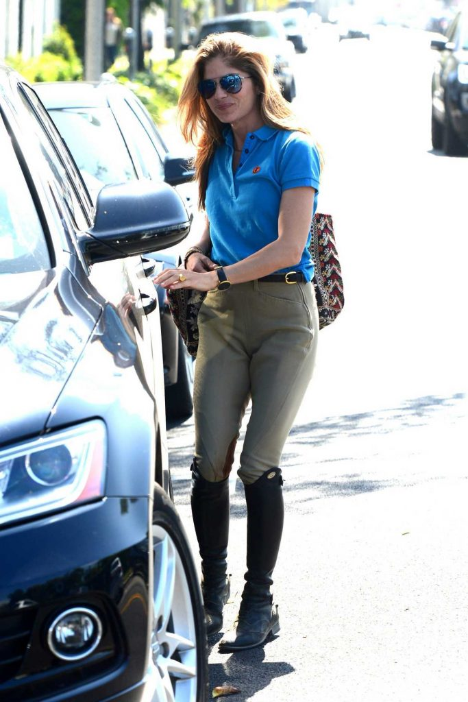 Selma Blair Wears a Riding Outfit in West Hollywood 04/24/2018-4
