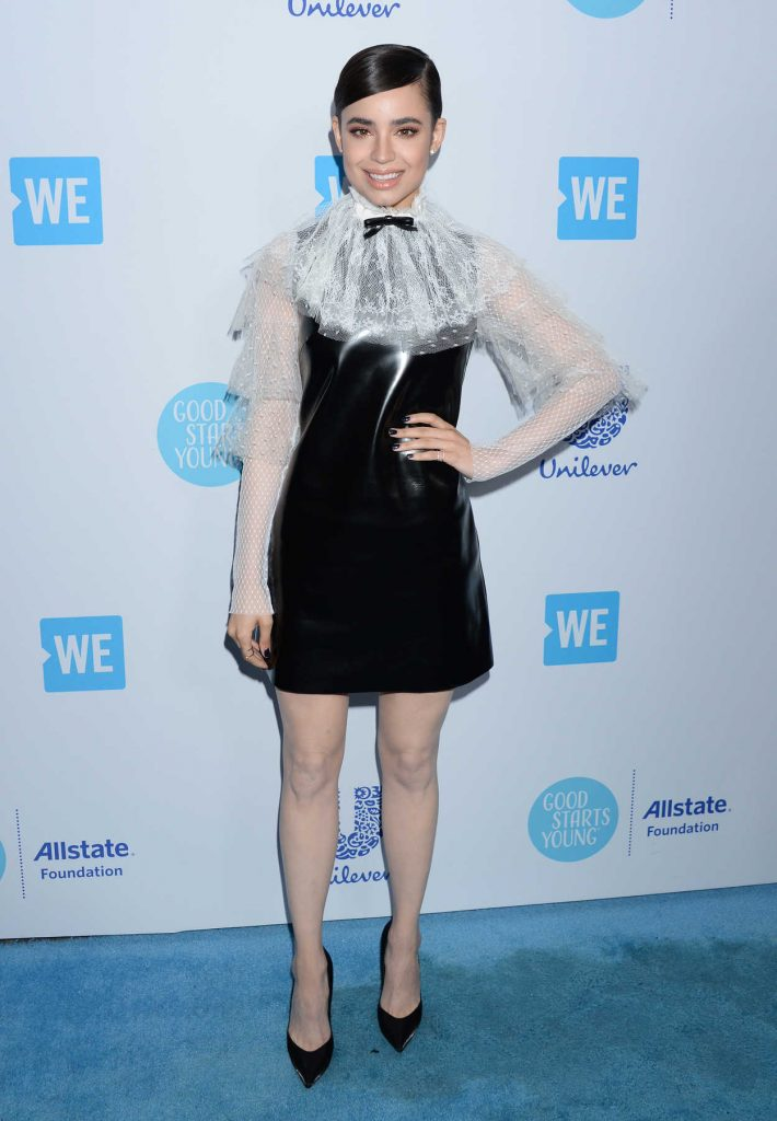 Sofia Carson at WE Day California in Los Angeles 04/19/2018-1