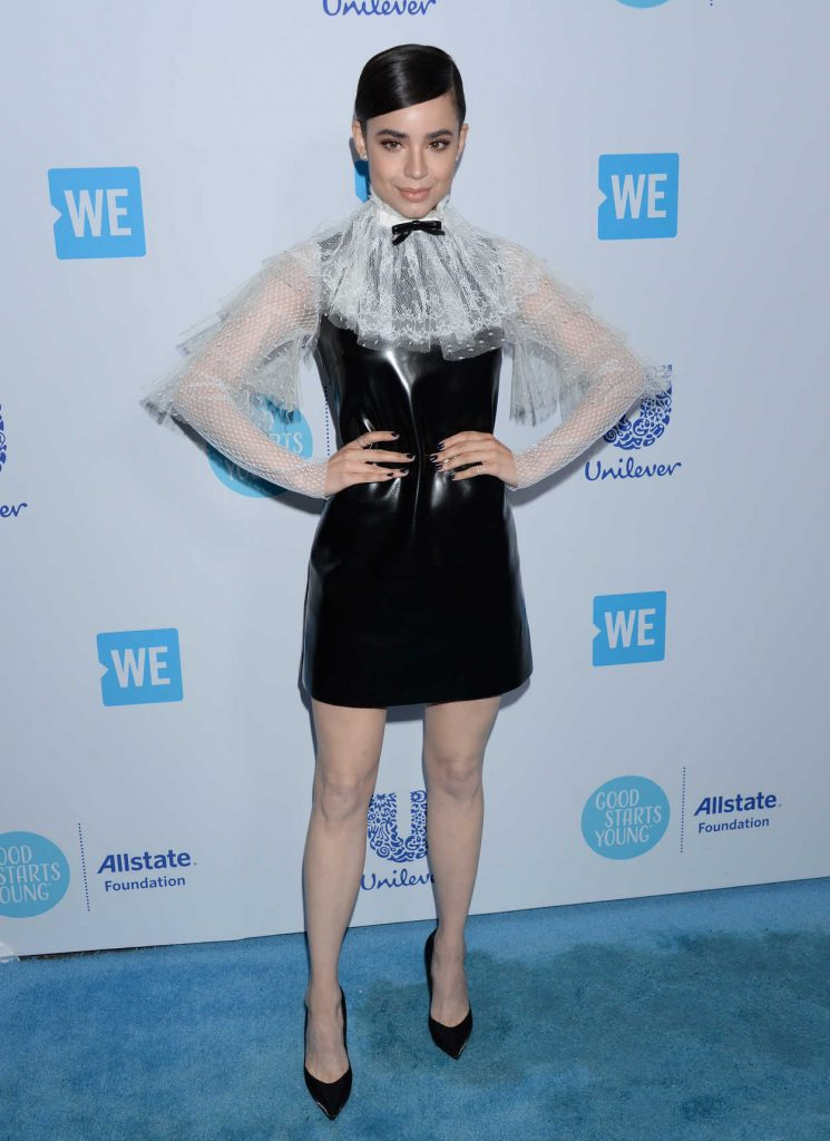 Sofia Carson at WE Day California in Los Angeles 04/19/2018-2