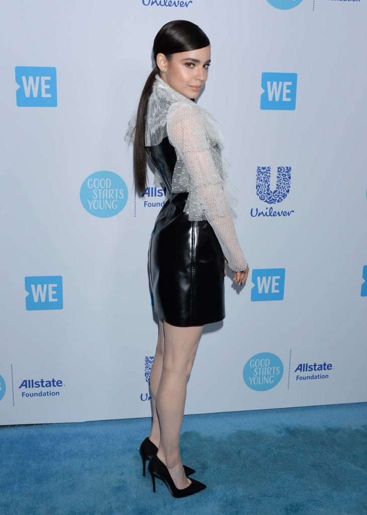 Sofia Carson at WE Day California in Los Angeles 04/19/2018-3
