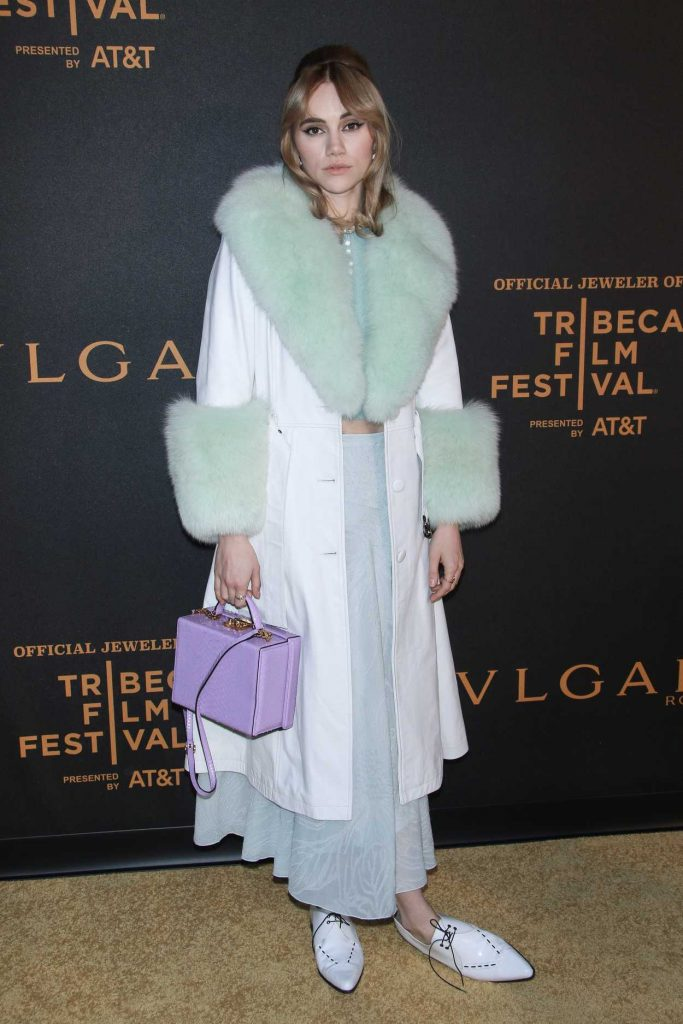 Suki Waterhouse at The Conductor Premiere During the Tribeca Film Festival in New York City 04/26/2018-1
