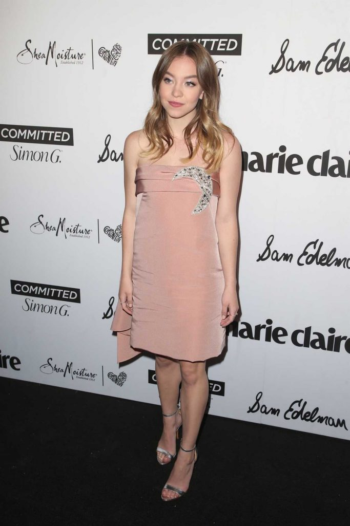 Sydney Sweeney at the 5th Annual Marie Claire Fresh Faces Party in Los Angeles 04/27/2018-1