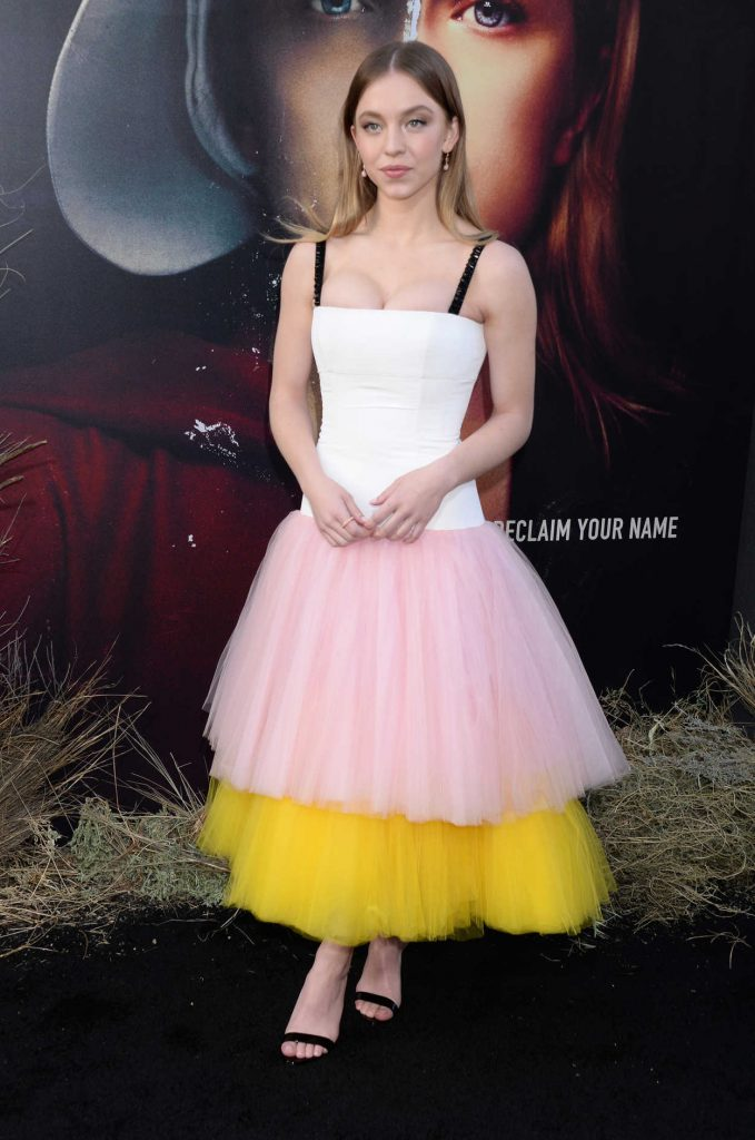Sydney Sweeney at The Handmaid's Tale Season 2 Premiere in Hollywood 04/19/2018-2
