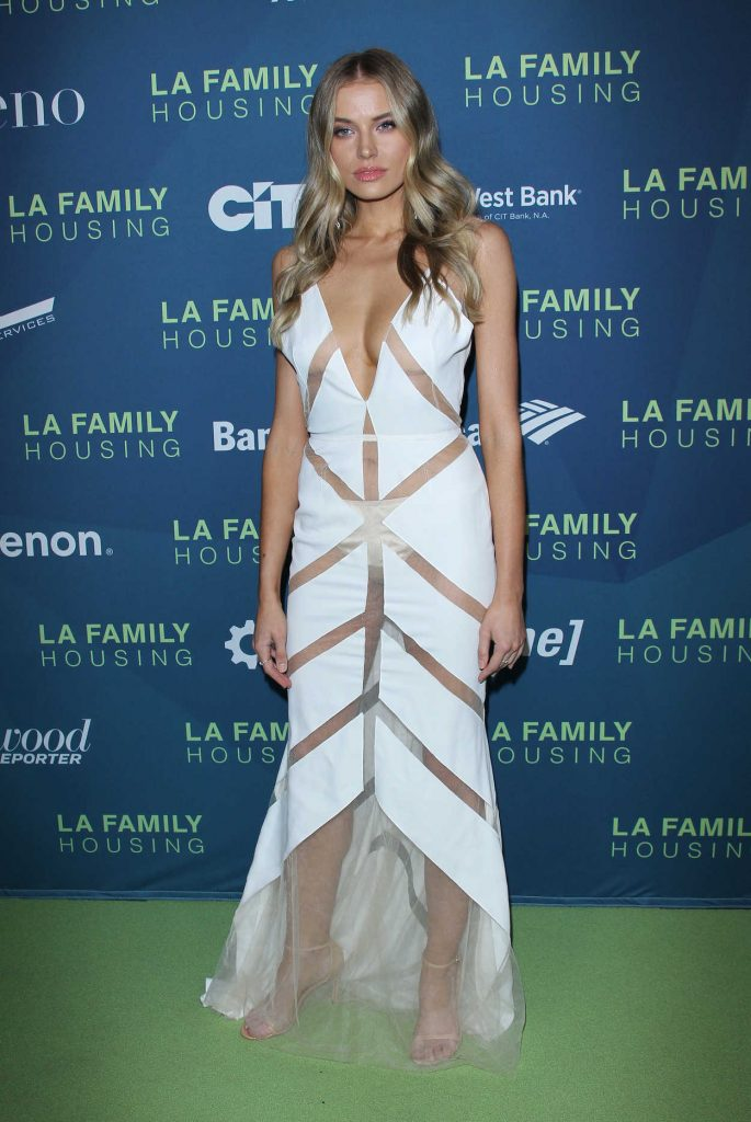 Tanya Mityushina at LA Family Housing Awards in West Hollywood 04/05/2018-1