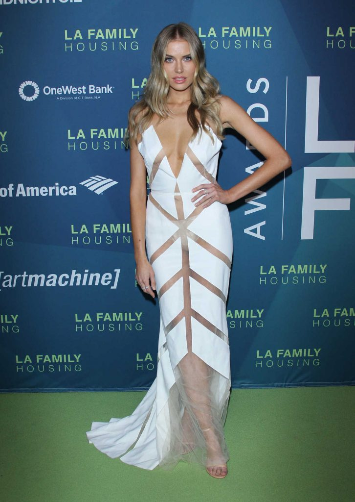 Tanya Mityushina at LA Family Housing Awards in West Hollywood 04/05/2018-3