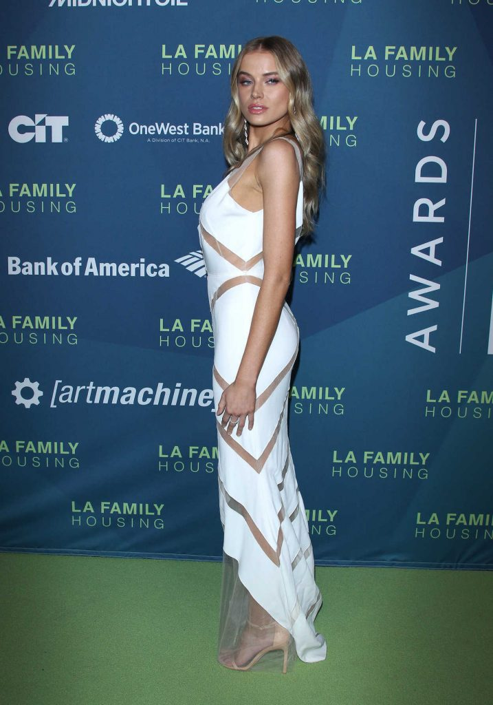 Tanya Mityushina at LA Family Housing Awards in West Hollywood 04/05/2018-4