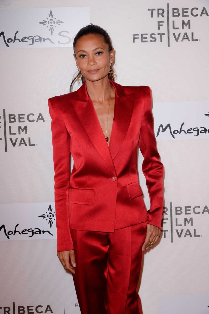 Thandie Newton at the Westworld Season 2 Premiere During the 2018 Tribeca Film Festival in New York City 04/19/2018-2