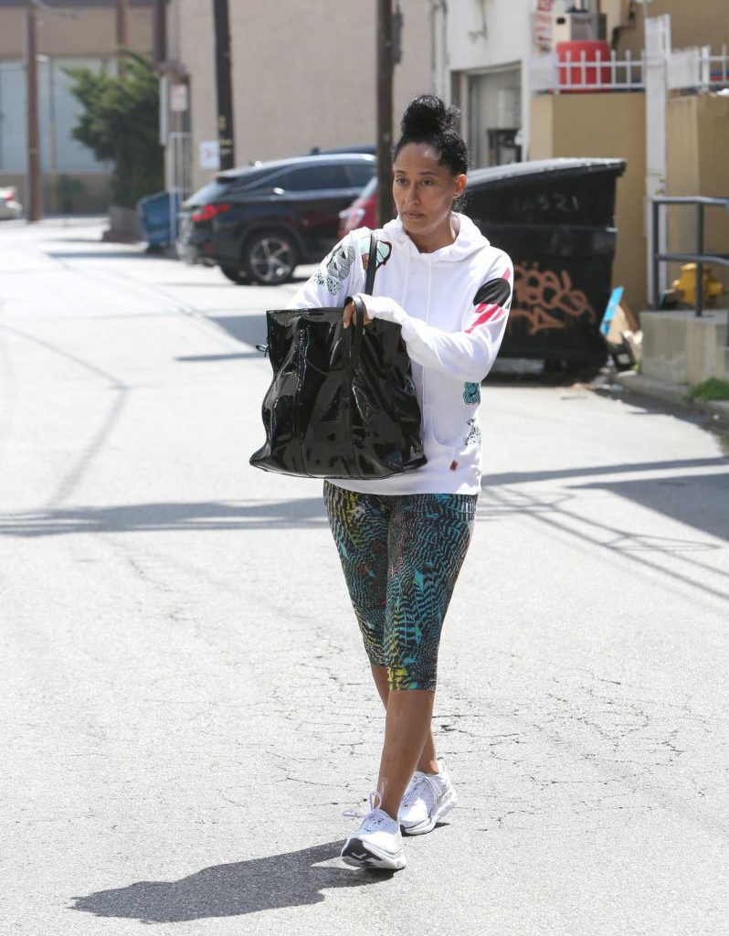 Tracee Ellis Ross Leaves the Gym in Los Angeles 04/24/2018-2