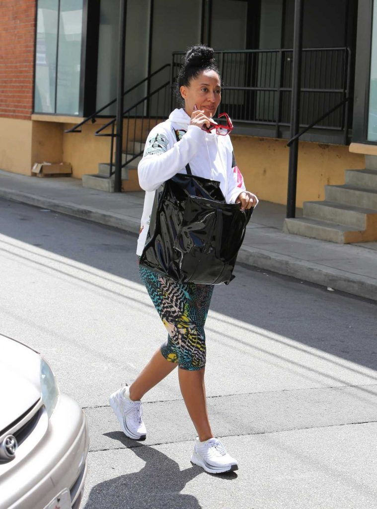 Tracee Ellis Ross Leaves the Gym in Los Angeles 04/24/2018-4