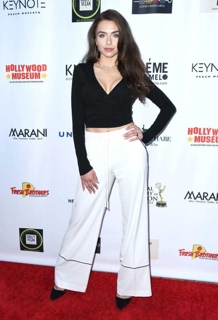 Victoria Konefal at 2018 Daytime Emmy Awards Nominee Reception in Hollywood 04/25/2018-1