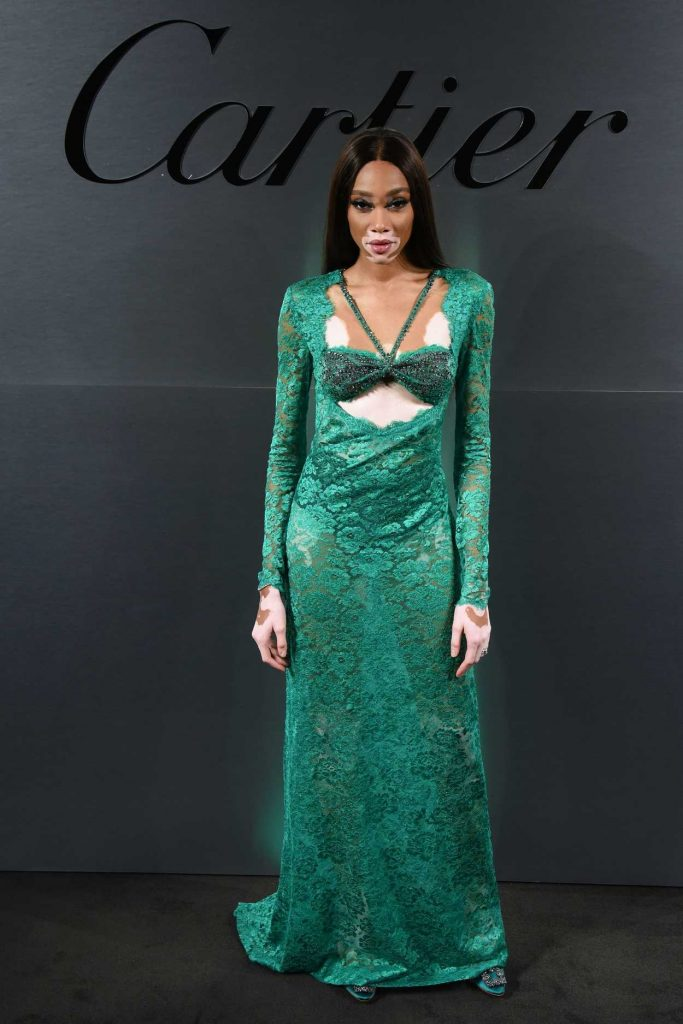 Winnie Harlow at the Cartier's Bold and Fearless Celebration in San Francisco 04/05/2018-1