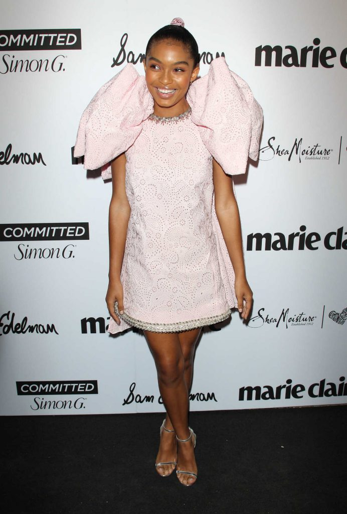 Yara Shahidi at the 5th Annual Marie Claire Fresh Faces Party in Los Angeles 04/27/2018-1