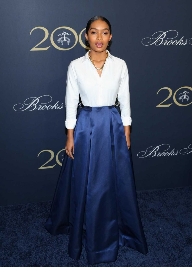 Yara Shahidi at the Brooks Brothers Bicentennial Celebration in New York 04/25/2018-1
