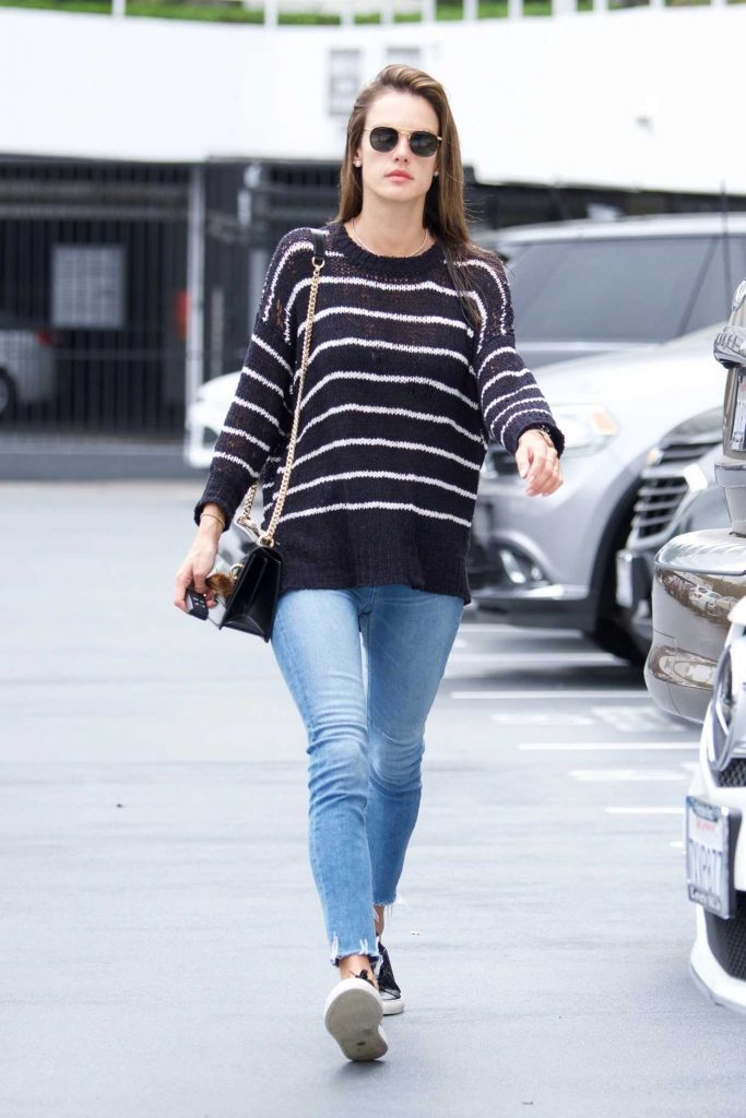Alessandra Ambrosio Was Spotted Out in Los Angeles 05/23/2018-1
