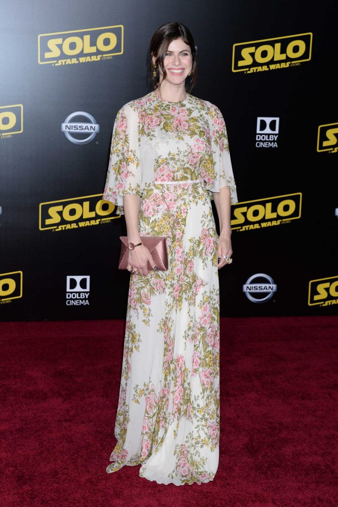 Alexandra Daddario at the Solo: A Star Wars Story Premiere in Los Angeles 05/10/2018-1