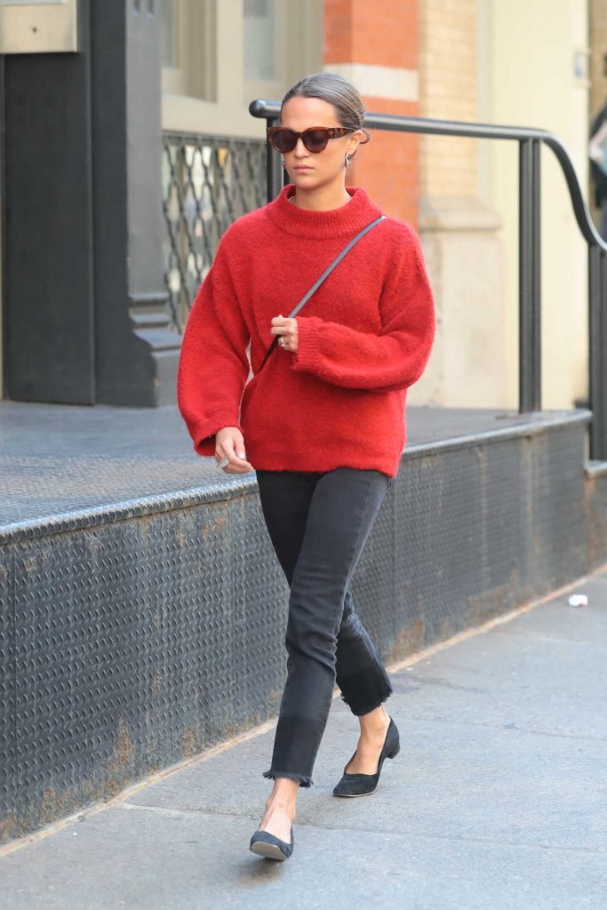 Alicia Vikander Was Seen Out in New York City 05/11/2018-1