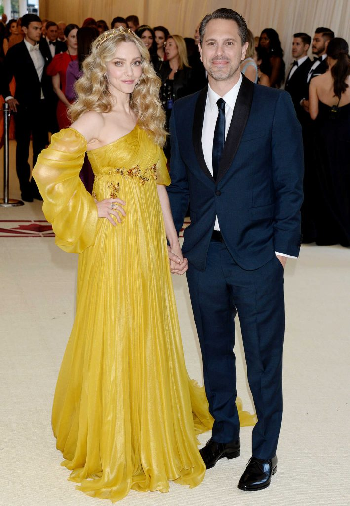 Amanda Seyfried at the Heavenly Bodies: Fashion and The Catholic Imagination Costume Institute Gala in New York City 05/07/2018-2