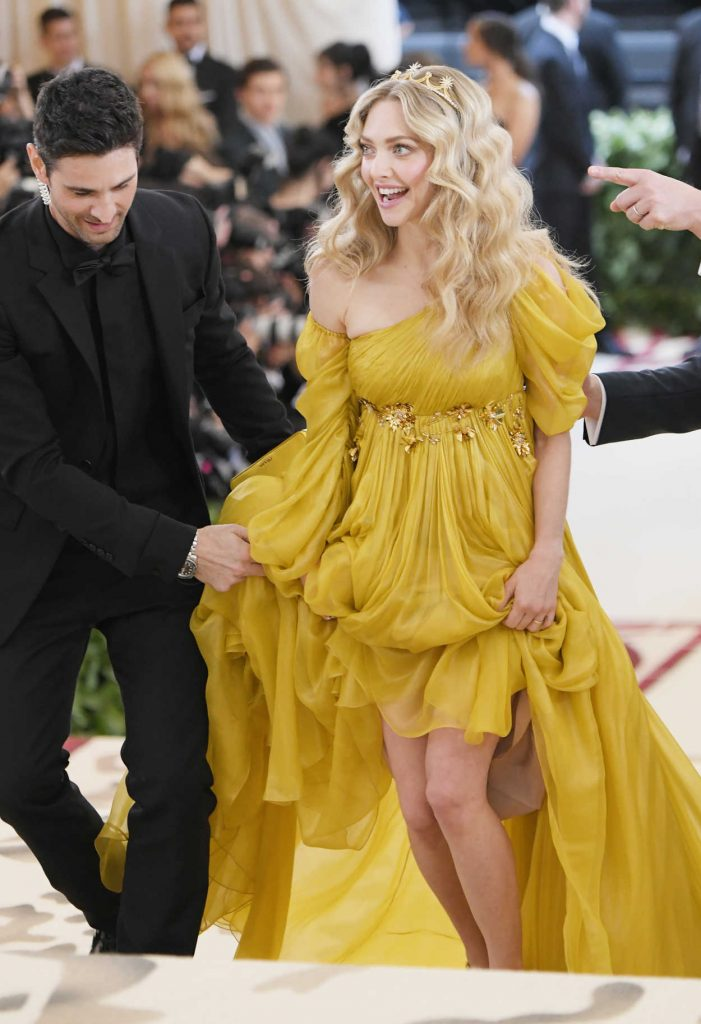 Amanda Seyfried at the Heavenly Bodies: Fashion and The Catholic Imagination Costume Institute Gala in New York City 05/07/2018-4