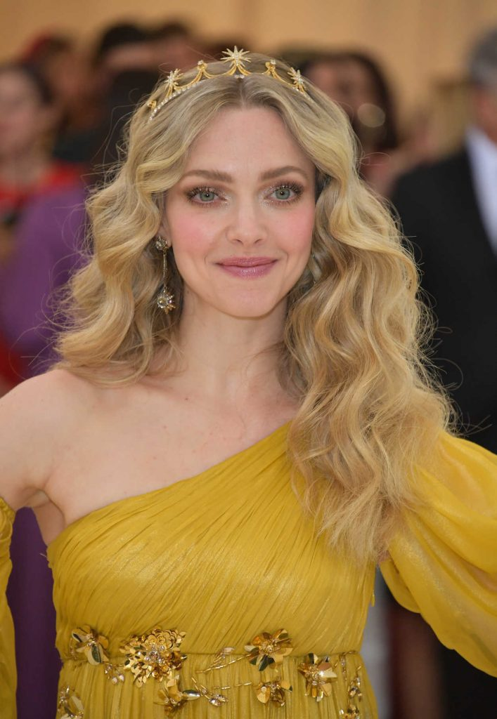 Amanda Seyfried at the Heavenly Bodies: Fashion and The Catholic Imagination Costume Institute Gala in New York City 05/07/2018-5