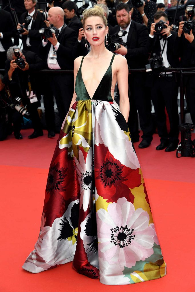 Amber Heard at Sorry Angel Premiere During the 71st Cannes Film Festival in Cannes 05/10/2018-1
