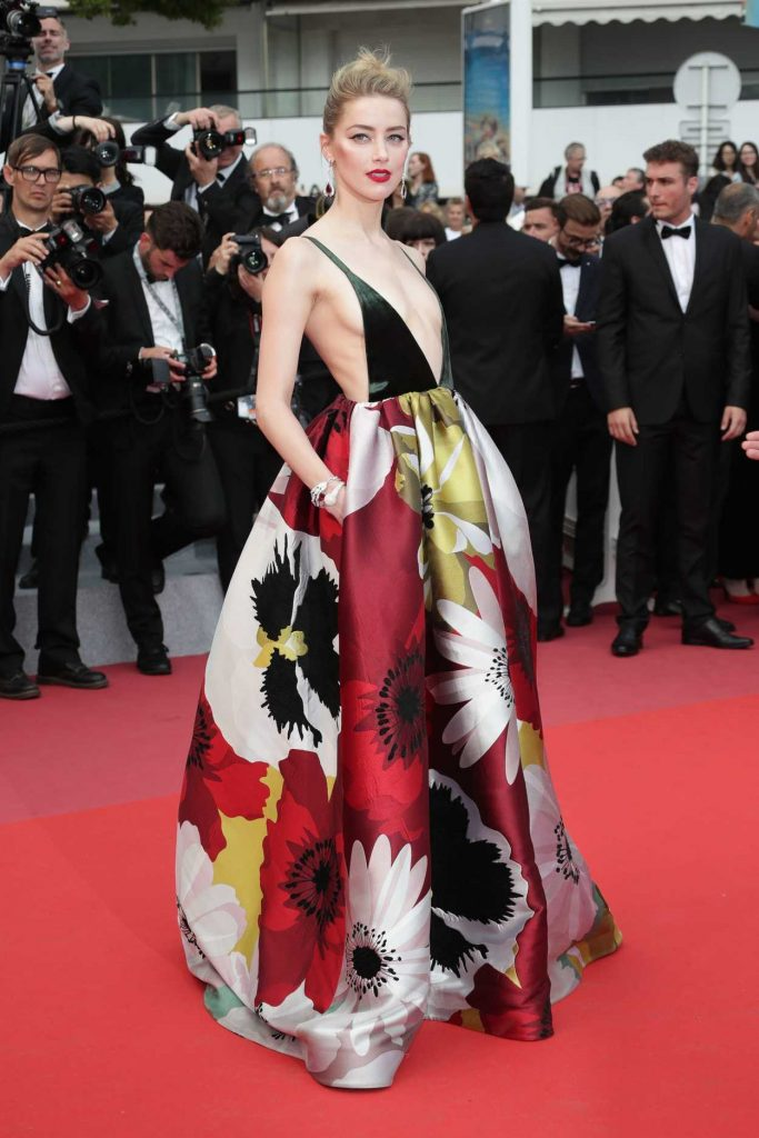 Amber Heard at Sorry Angel Premiere During the 71st Cannes Film Festival in Cannes 05/10/2018-2
