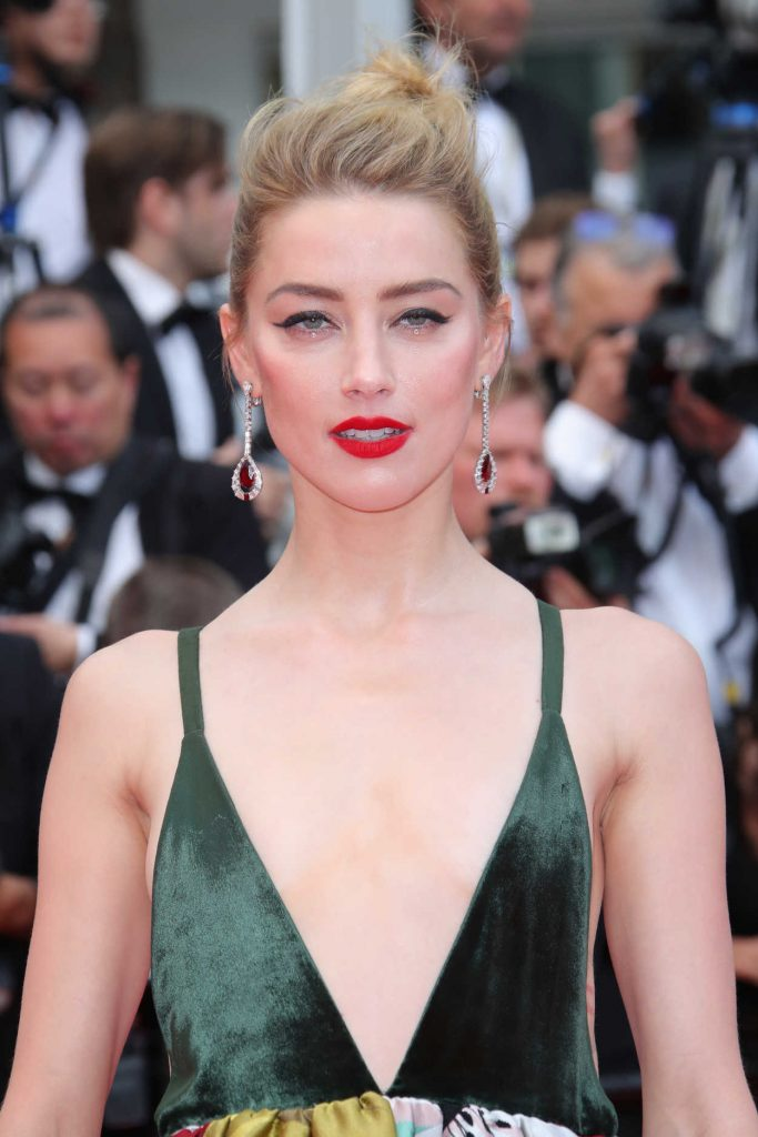 Amber Heard at Sorry Angel Premiere During the 71st Cannes Film Festival in Cannes 05/10/2018-5