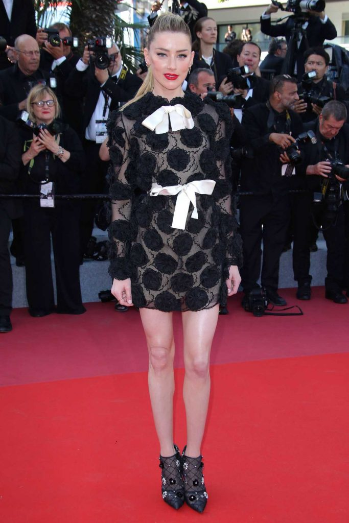 Amber Heard at the Girls of the Sun Premiere During the 71st Cannes Film Festival in Cannes 05/12/2018-1