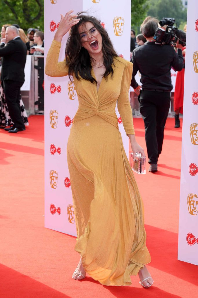 Amy Jackson at British Academy Television Awards at Royal Festival Hall in London 05/13/2018-2