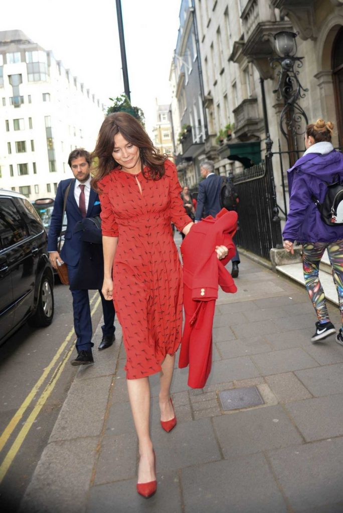 Anna Friel Heads to the BAFTA TV Awards in Conversation Event in London 05/01/2018-2