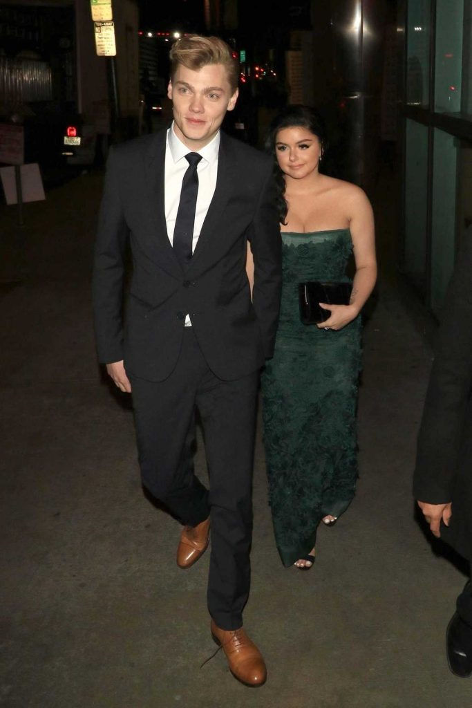 Ariel Winter Attends an Event at ArcLight Theatre with Her Boyfriend Levi Meaden in Hollywood 05/01/2018-2