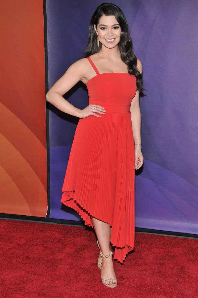 Auli'i Cravalho at 2018 NBCUniversal Summer Press Day in Universal City 05/02/2018-3