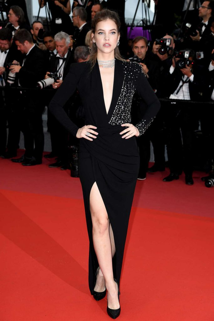 Barbara Palvin at the Burning Premiere During the 71st Cannes Film Festival in Cannes 05/16/2018-2