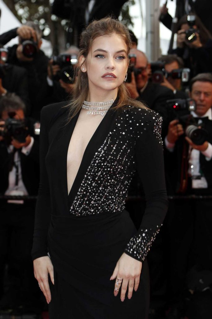 Barbara Palvin at the Burning Premiere During the 71st Cannes Film Festival in Cannes 05/16/2018-5