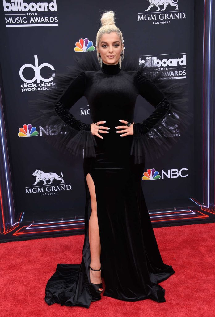 Bebe Rexha at Billboard Music Awards in Las Vegas 05/20/2018-1