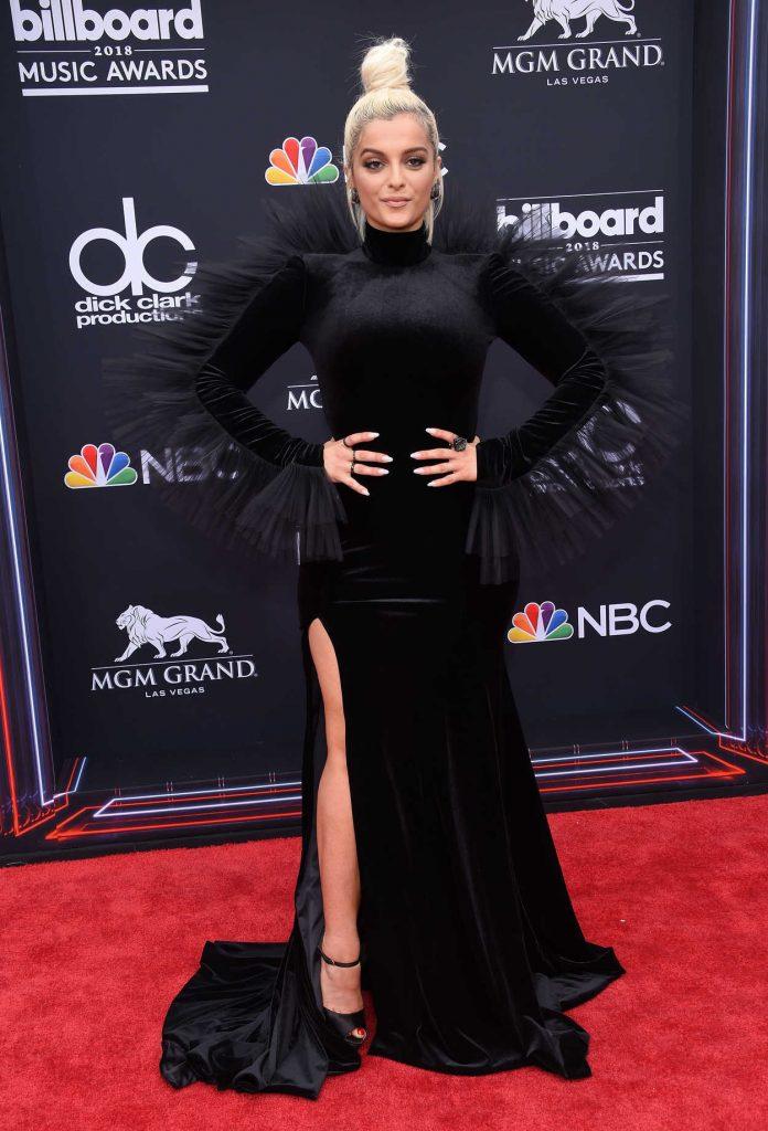 Bebe Rexha at Billboard Music Awards in Las Vegas 05/20/2018-1