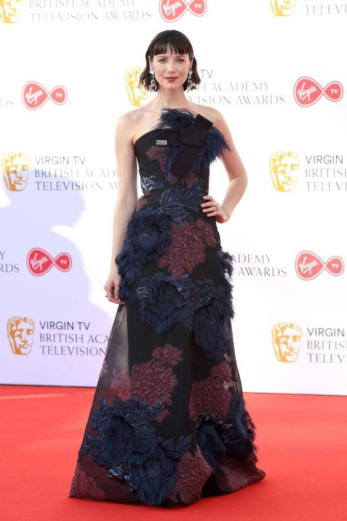 Caitriona Balfe at British Academy Television Awards at Royal Festival Hall in London 05/13/2018-1