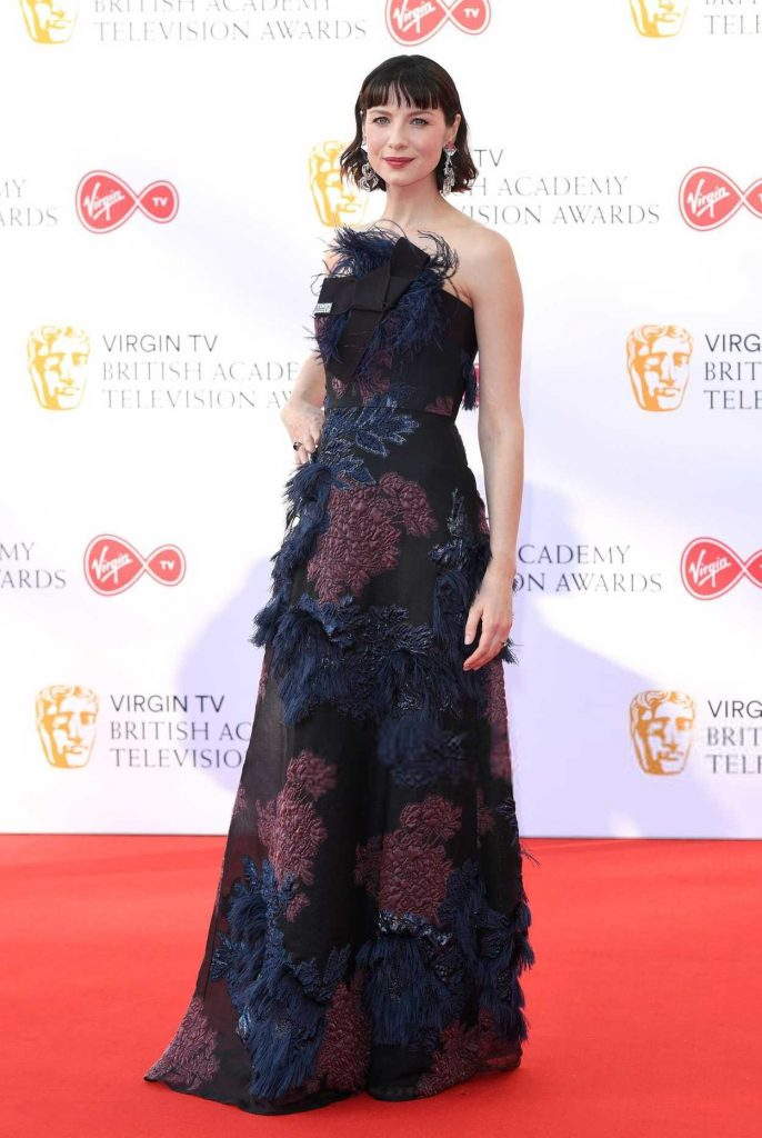 Caitriona Balfe at British Academy Television Awards at Royal Festival Hall in London 05/13/2018-2