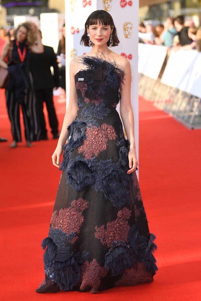 Caitriona Balfe at British Academy Television Awards at Royal Festival Hall in London 05/13/2018-3